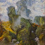 Guo-Xi - Van Gogh Zhang Hongtu 1998