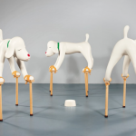 Yoshitomo Narra, Dogs from you childhood- installation 1994