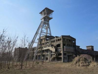 VanGerven VanRijnberk, SKYrocket - inspection on location 2, 2012, Waterschei Mine, Genk Belgium Manifesta 9, digital photograph
