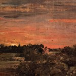 The Rectory from East Bergholt House, John Constable