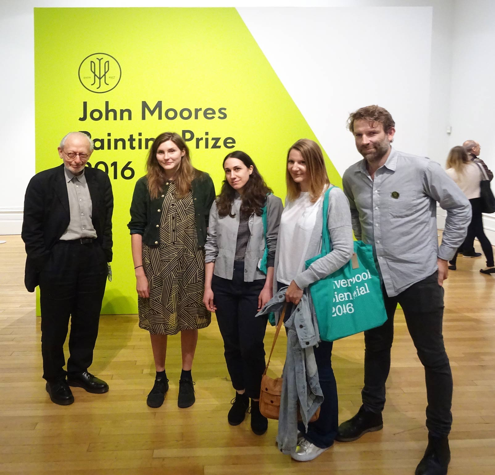 2016 Prize winners John Moores Painter Prize